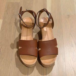 Lina Leather Platform Sandals